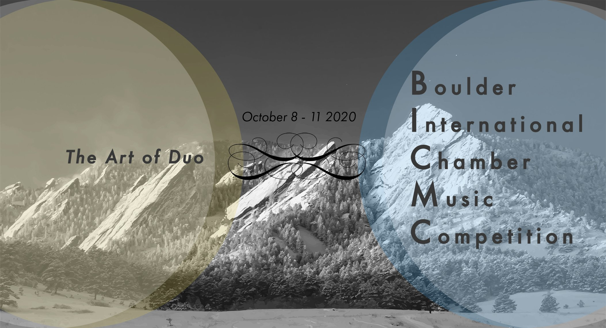October 8 - 11 2020 Boulder International Chamber Music Competition